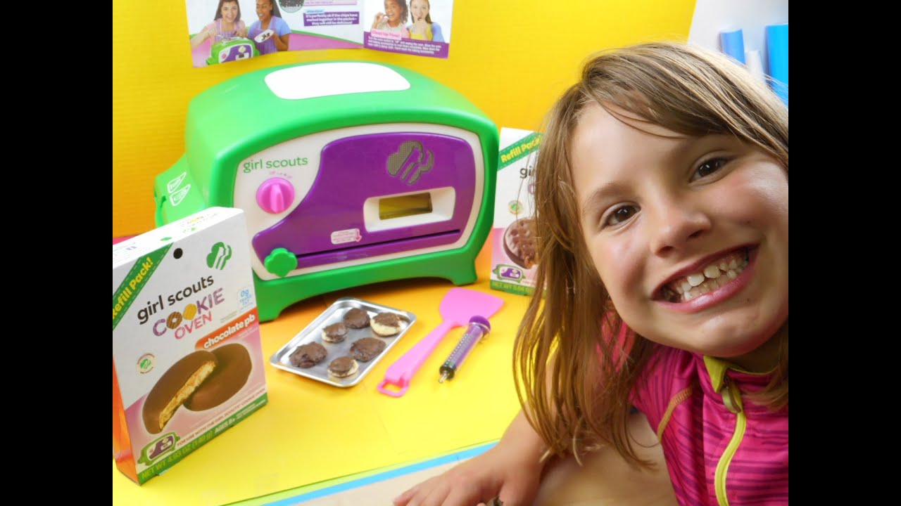 wicked cool toys girl scouts cookie oven   youtube