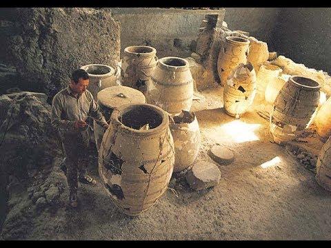 Archaeological Excavations on the Santorini island