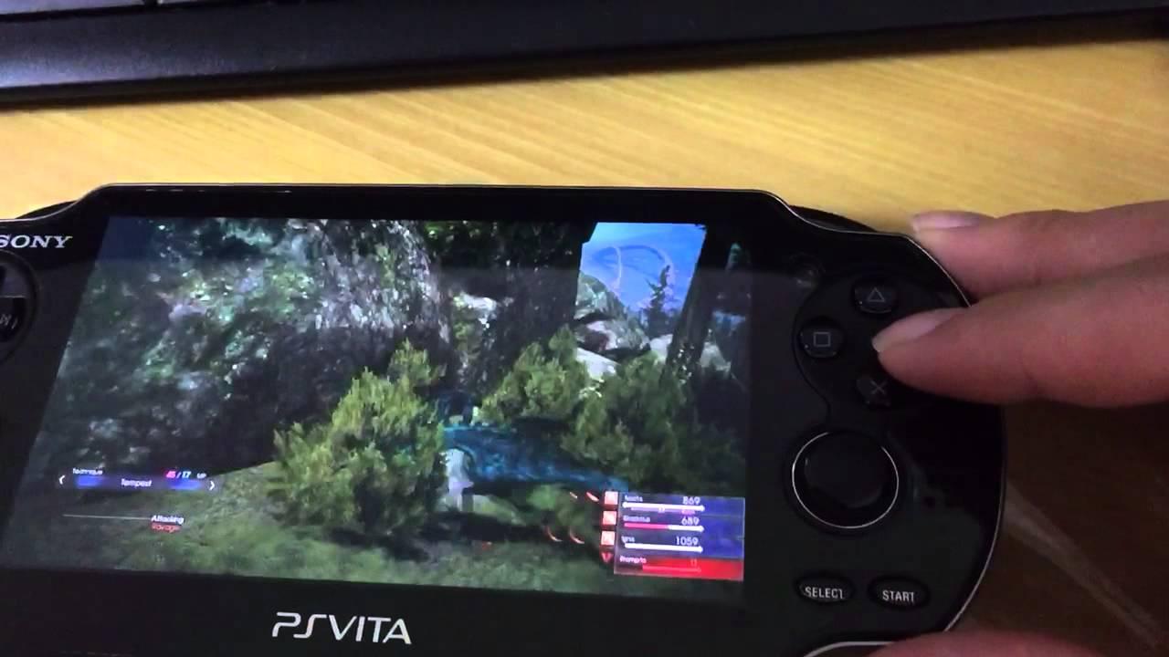 FINAL FANTASY XV vita remote combat play - YouTube