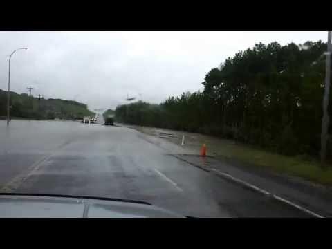 2013 Alberta Flood - Millarville turn off submerge