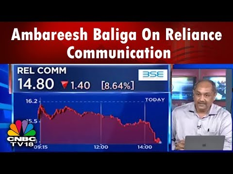 Ambareesh Baliga On Reliance Communication | CNBC Tv18