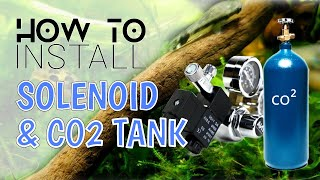 How to install Co2 Tank with Regulator 如何组装二氧化碳水草缸CO2 CYLINDER钢瓶细化器