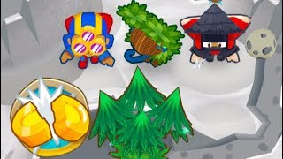 Bloons TD 6 - Half Cash on THE MOON - GROW IT ON THE MOON?