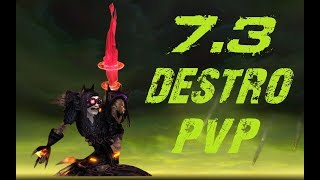 Legion 7.3 | Destruction Warlock PvP [Asek]