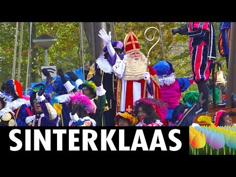 Black Pete Christmas History.Sinterklaas And Black Pete Holland Holiday