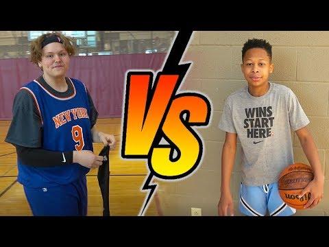 DonJ vs Zesty. IRL 1 vs 1 Basketball Match-up
