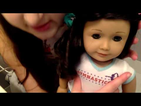 How to Get Marks Off of an American Girl Doll!