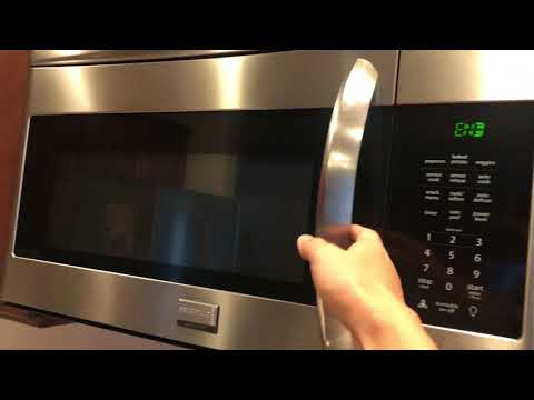 How to turn off beeping sound on a Frigidaire Microwave model FGMV175QFA