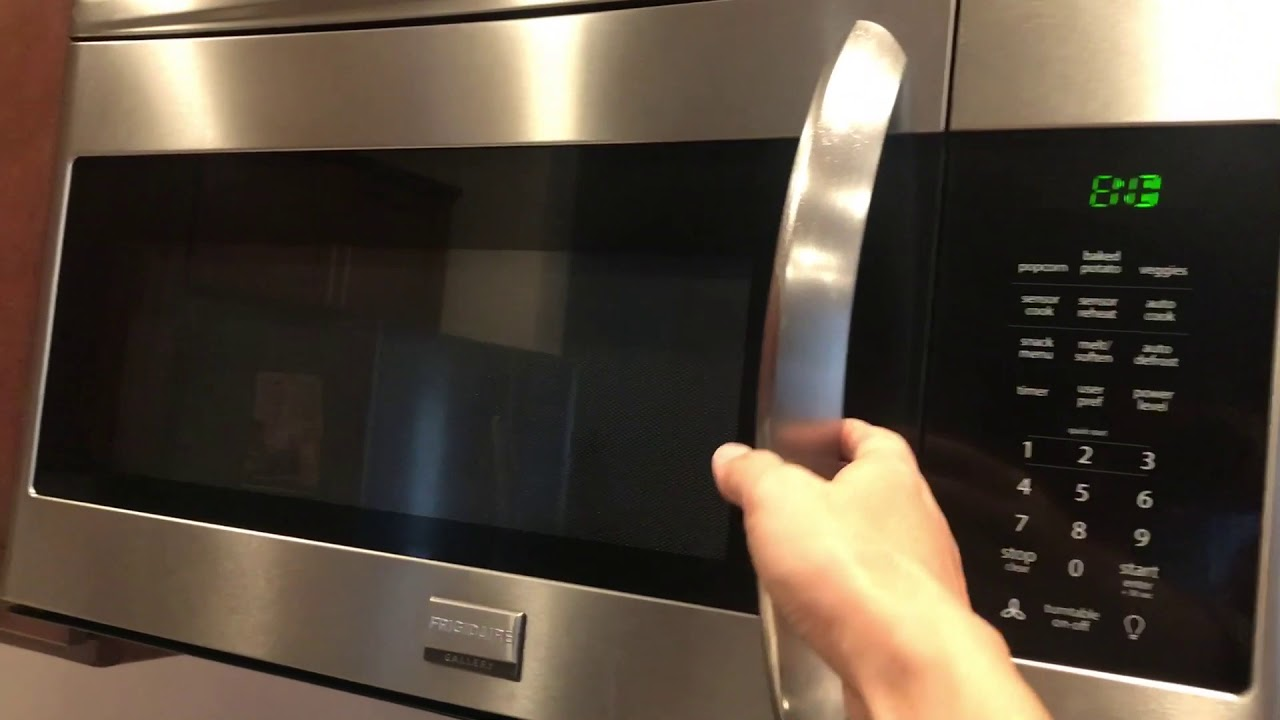 How To Turn Off Beeping Sound On A Frigidaire Microwave