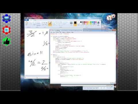 Python 102: Algorithms and Programming a Decimal to Binary converter! | The Call Stack