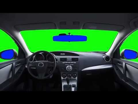Green Screen Car
