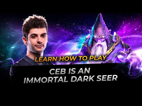Dota 2: Ceb Is An Immortal Dark Seer - Full Gameplay Perspective Player Patch 7.24