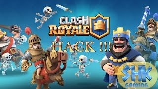 Clash Royale Server HACK  | September 2016 | Android /iOS !!