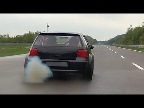1150HP VW Golf 4 R32 Turbo Don Octane Acceleration Sound