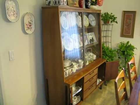 For Sale, Dual Window China Cabinet, Excellent Condition, Claremont CA