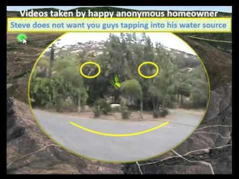 Water Wells, San Diego, Riverside Ca, Ramona, #1 Video, Well On Hilltop, 60 Gpm, 250 Ft. Deep