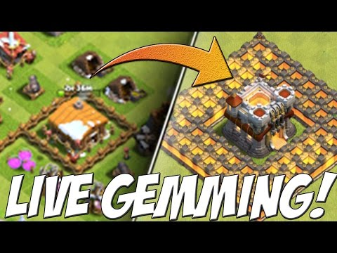HOW MUCH GEMS DO YOU NEED TO MAX YOUR BASE? - HUGE GEMMING SPREE! - Clash Of Clans