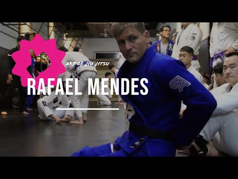 Kris Kim Bjj : Rafael Mendes Seminar Rolls