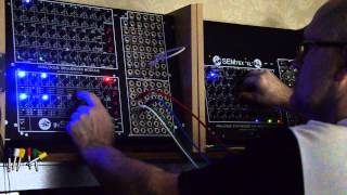 """Modular Synthesizer SEM TEX """"XL"""" & In SEQ T """"Anyware Sequence"""""""