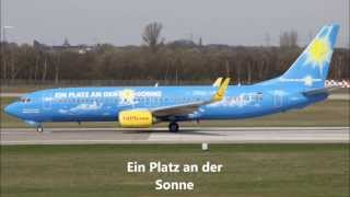 TuiFly Flugzeuge (Alle)