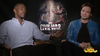 Captain America: Civil War Interviews - Talking Smack