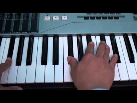 How to play Hold Me Down by JLS on piano