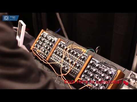 NAMM 2018 Doepfer Dark Energy III Audio Demo by Dieter Doepfer (no talk)