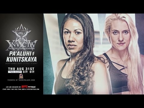 Invicta FC 25: Road to Pa'aluhi vs Kunitskaya