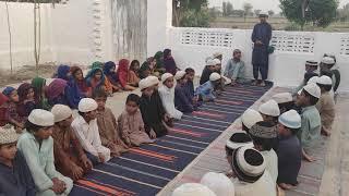 Mirpurkhas affected area village best Education Quran Pak Vlog#37   Mufti_Shafqatullah