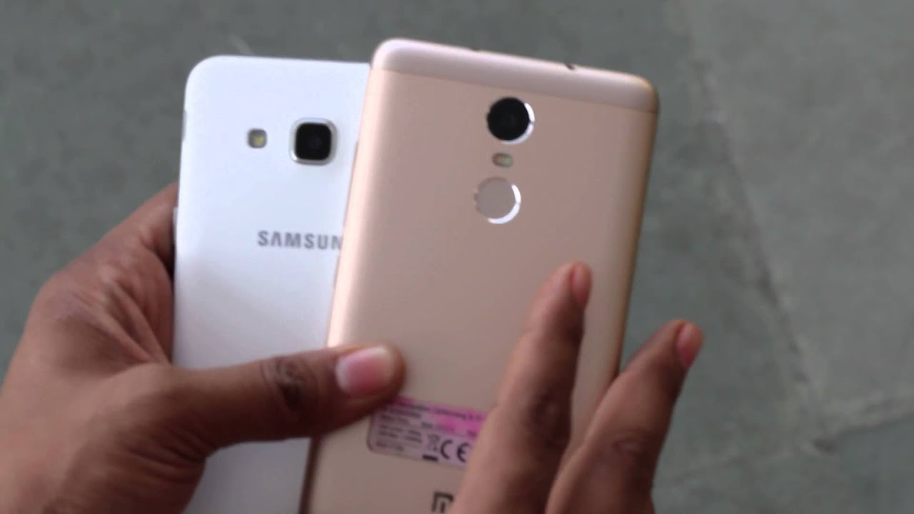 Samsung Galaxy J3 2017 Vs Xiaomi Redmi Note 3 You Cek