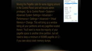 Windows 7 Hard Drive Optimization
