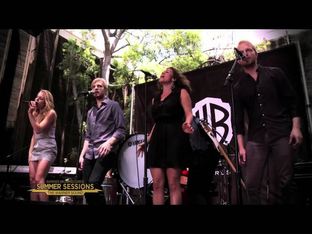 "Delta Rae - ""Bottom of the River"" live at WBR's Summer Sessions Concert Series"