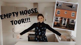 NEW EMPTY HOUSE TOUR!! || Talia Rose