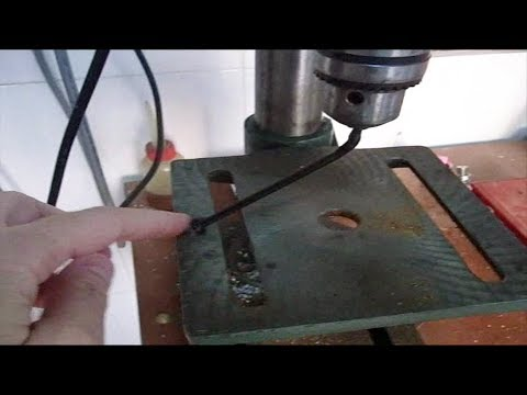 Drill-press Table Squaring, High Precision - DIY