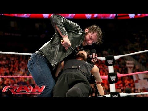Dean Ambrose punishes