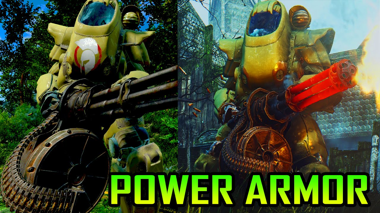 969abad3afa8 FALLOUT 4 Console Mods - BIG BIGGER POWER ARMOR (Best PS4 Mods   XboX 1 mods)  - YouTube