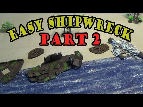 Finished Shipwreck on Farland Isle Adventure Project for D&D Part2