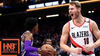 Sacramento Kings vs Portland Trail Blazers Full Game Highlights | 01/14/2019 NBA Season