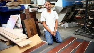 How To Install Floating Hardwood Flooring On Concrete : Wood Floor Installation
