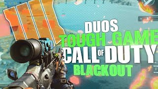 TOUGHEST GAME EVER - Duos With Soltek1h - Call Of Duty: Blackout BR