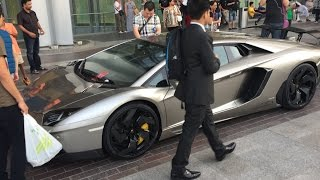 DON'T PARK YOUR $500,000 SUPERCAR in front of the  DUBAI MALL
