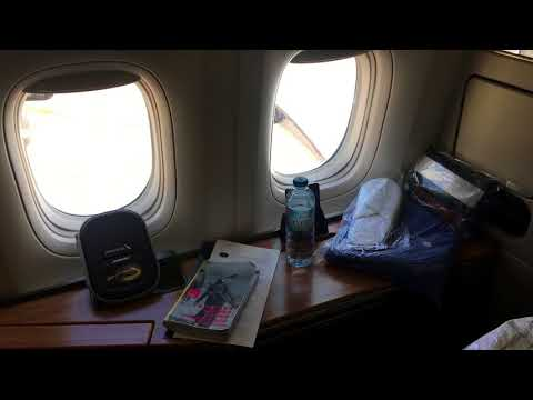 AA American Airlines First Class AA107 London New York JFK