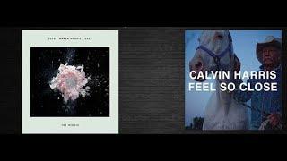 Zedd ft. Maren Morris vs Calvin Harris - The Middle x Feels So Close (Dramos Bootleg) Unofficial