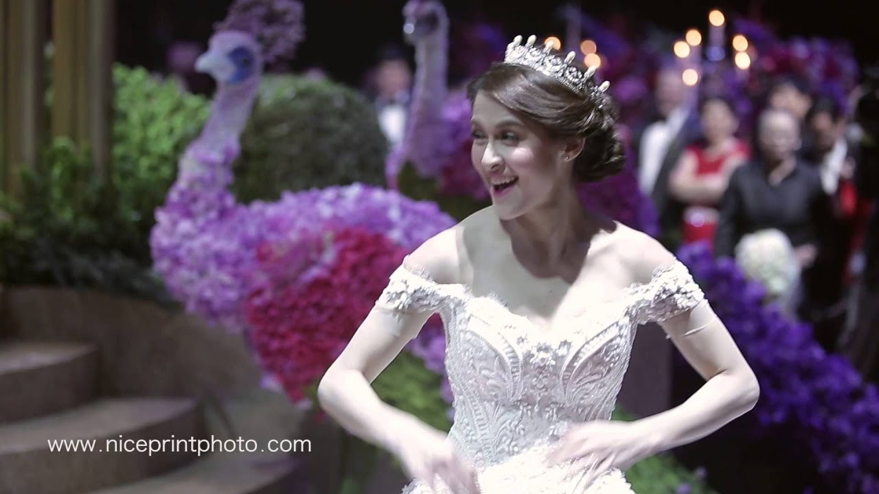 DINGDONG DANTES & MARIAN RIVERA WEDDING HIGHLIGHTS BY NICE ...