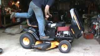 yard sale tractor
