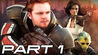 MASS EFFECT 2: Gameplay Walkthrough Part 1 - Shepard's BACK From the Dead! (Let's Play)