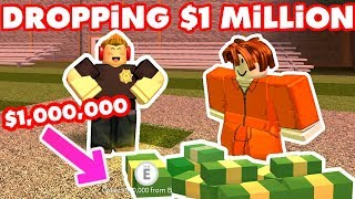 MINIGAMES FOR A MILLION CASH! - Roblox Jailbreak With Fans