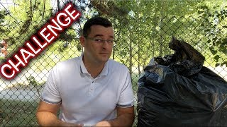 Най-якия CHALLENGE - Торбичка с Боклук!