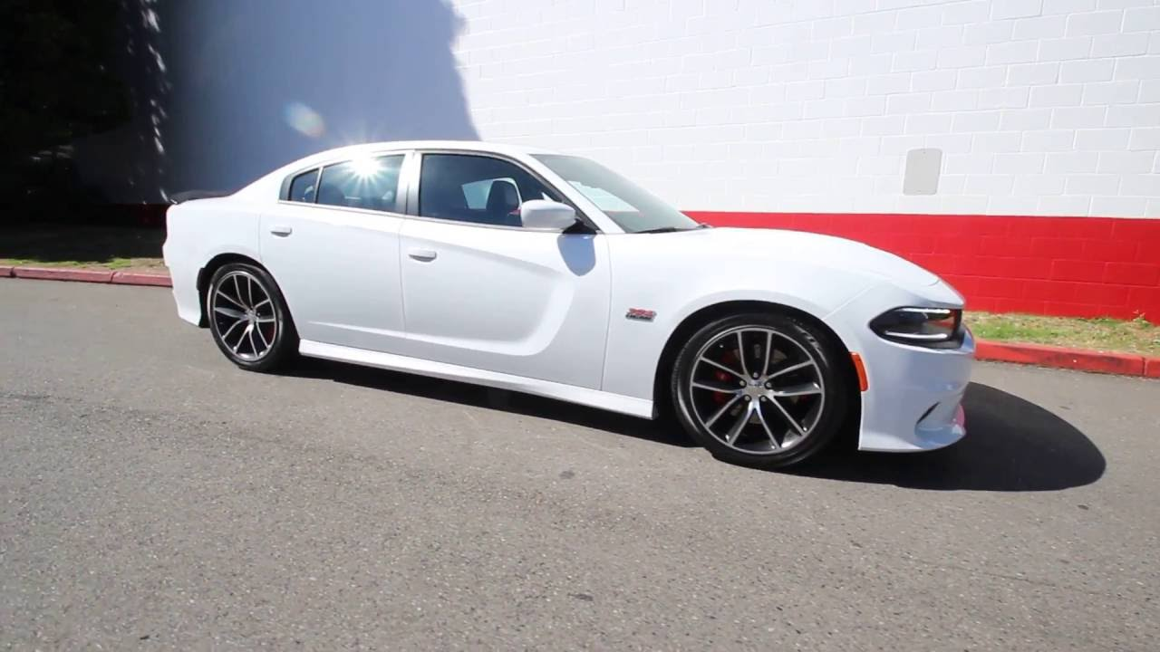 2017 Dodge Charger Rt White >> 2016 Dodge Charger R/T Scat Pack | Bright White Clear Coat | GH302986 | Redmond | Seattle - YouTube