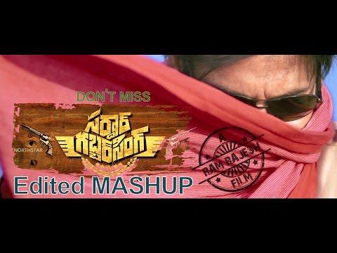 PawanKalyan's Gabbar Singh MashUp   Edited Video   Music By DSP  